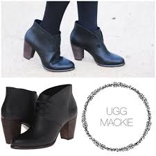 ugg womens mackie boots black 49 ugg shoes sale ugg australia mackie ankle boot