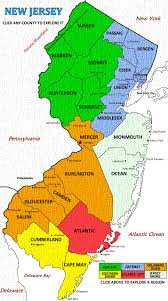 map of nj map of new jersey by town lapiccolaitalia info