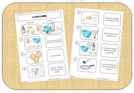 recette de cuisine ce1 atelier cuisine la pâte à crêpes recette des pates ce1 et les pates