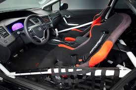 honda civic si modified honda debuts seven 2012 civic si coupes and sedans at sema show