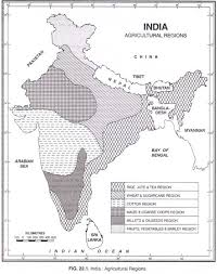 India Regions Map by Incredible India