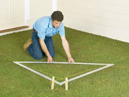 Laying Patio Slabs On Grass How To Lay A Concrete Paver Patio How Tos Diy