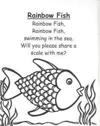 rainbow fish activities early rainbow fish