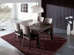dining charming contemporary extendable dining table and