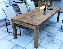 how to make a rustic table building a farm table home plans