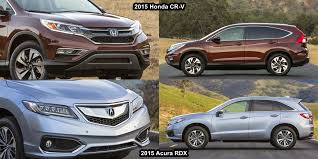 acura rdx vs lexus rx benim otomobilim 2015 honda cr v vs 2015 acura rdx interior and