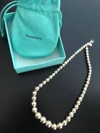silver beads necklace tiffany images Tiffany co paloma picasso bead necklace in amazonite with jpg
