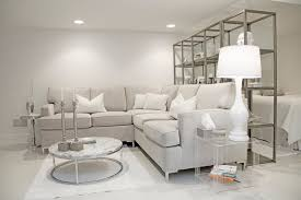 accent living room tables furniture bright white themed house in cozy contemporary living