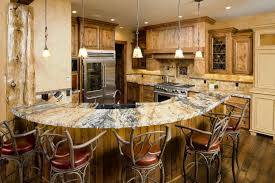 Rustic Kitchen Ideas - rustic kitchen cabinets vintage frosted glass pendant lights beige