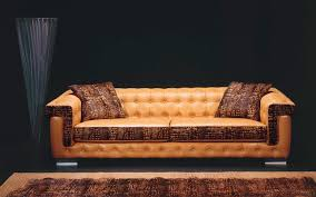 Brown Leather Chesterfield Sofa by Furniture Brown Leather Chesterfield Sofa For Living Room