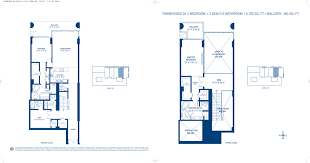 Parkland Residences Floor Plan by Canyon Ranch North Blackstone International Realty