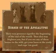 four horses of the apocalypse red dead wiki fandom powered by