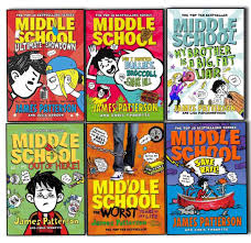 patterson middle school 6 books collection pack set save