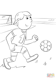 cartoon football player coloring page free printable coloring pages