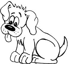 cute dog coloring animals pets dog