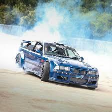 bmw e36 m3 drift bmw e36 m3 blue widebody smoke bmw bmw