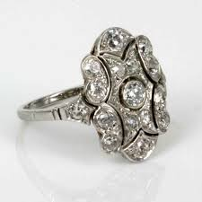 deco diamond ring in platinum buy emerald and sold items buy 1920s