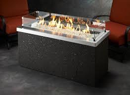 Linear Fire Pit by Key Largo Fire Pit Key Largo 1242 K Outdoor Greatroom