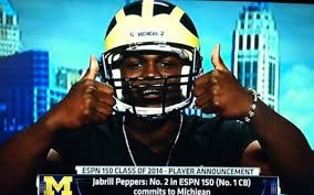 Michigan Football Memes - top michigan commitment jabrill peppers says he ll take official