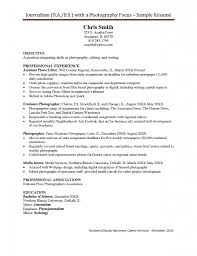 Sample Resume Cook Objectives by Sample Resume Media Jobs