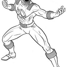 power rangers ninja storm running coloring power rangers