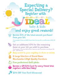 baby gift registry list 10 10 registry rewards ideal baby