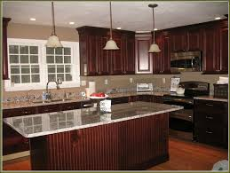 colors for a kitchen with dark cabinets kitchen painting cherry cabinets backsplash ideas for dark