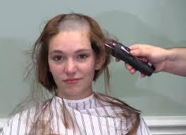 punishment haircuts for females this year she decided to go with a shorter summer haircut