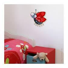 horloge chambre bébé horloge enfant coccinelle déco chambre bébé et enfant série golo