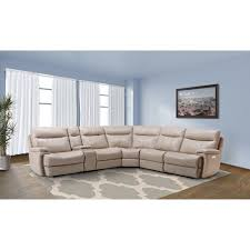 sectional sofa bed with storage arlo casual reclining sectional sofa with storage console
