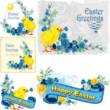 easter greeting cards easter greeting cards with vector vector graphics