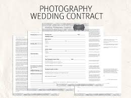 wedding flowers questionnaire wedding photography contract business forms flowers editable