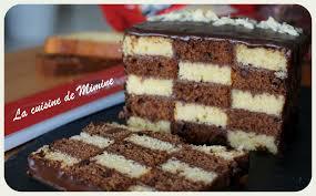 cuisine de gateau ma participation au concours ker cadélac gâteau damier facile et