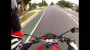gopro hero 2 helmet test 960 48fps settings ducati monster 696