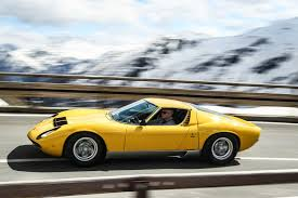 the lamborghini car a car half century 50 years of the lamborghini miura the
