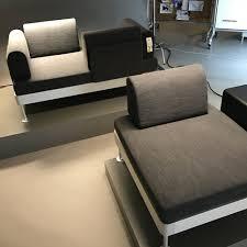 canape modulable ikea canapé modulable moderne gris et noir collection delaktig par tom