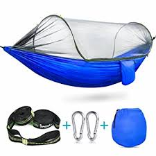 amazon com camping hammock with mosquito bug netting tent ispecle