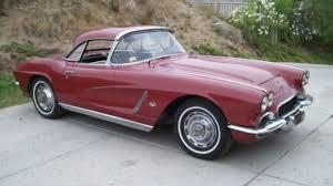 this 1962 chevrolet corvette is described as having all original
