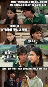 Hilarious Movie Memes - 12 iconic bollywood movie scenes converted into hilarious memes