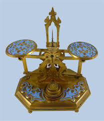 accessories enchanting black iron vintage weighing scales for