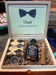 hochzeitsgeschenke trauzeuge box willst du mein trauzeuge sein trauzeuge sein schluckauf