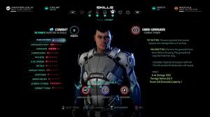 mass effect andromeda guide classes profiles and skill trees