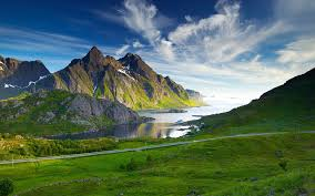 widescreen mountain hd beautiful amazing big images on green