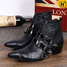 s dress boots black leather ankle dress boots cw750227