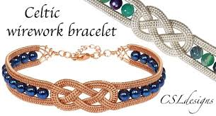 wire jewelry bracelet images 2 celtic knot wire jewelry tutorials the beading gem 39 s journal jpg