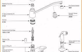 moen kitchen faucet replacement parts kitchen pleasurable moen kitchen faucet repair no water