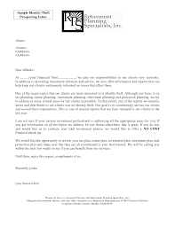 Client Referral Letter Template Prospecting Letter