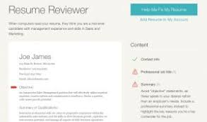 Resume Reviewer Get Your Free Resume Review In 35 Seconds Or Less Ladders