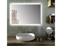 Round Bathroom Mirrors Sole Round Bathroom Mirror With Led