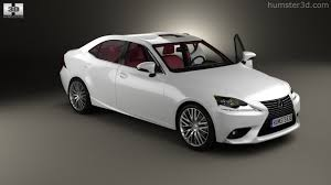 lexus is new model 360 view of lexus is xe30 with hq interior 2013 3d model hum3d